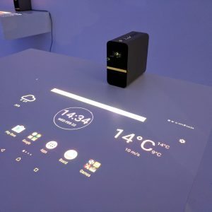 Sony Xperia Projector Can Turn Any Surface Into A Touchscreen